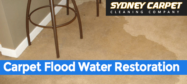 Carpet flood damage restoration Barangaroo